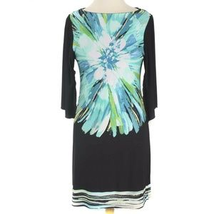 Fenn Wright Manson Floral Jersey Sheath Dress